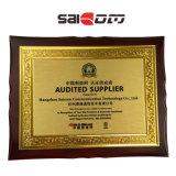 Interruttore di poe dei connettori 1U 100/1000 SC/RJ45 di alta velocità 19 della lega di alluminio di Saicom (SCSWG2-1124PF) ''