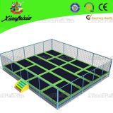 Grosses Kids Trampoline Park mit Safety Net für Sale (3021E)