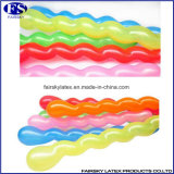 De Spiraalvormige Ballon van uitstekende kwaliteit, de Ballon van het Latex voor Fabriek pariteit-ISO