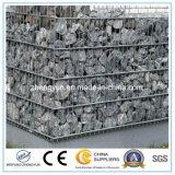 /Galfan/PVC/PE galvanizzato ricoperto ha saldato il cestino della casella di Gabion della rete metallica