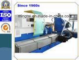 Torno de pulido horizontal diseñado especial del CNC para el rodillo de pulido de torneado 40t (CK61160)