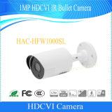 De Camera van het Veiligheidssysteem van de Kogel van Hdcvi IRL van Dahua 1MP (hac-HFW1000SL)