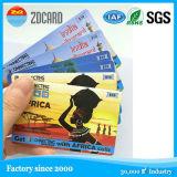 Cartões translúcidos transparentes para a venda por atacado