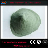 Polvo del carburo de silicio del verde de la pureza elevada para la industria de pulido