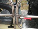 14 Seatersのドアが付いている電気シャトルバスの乗用車