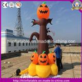 Heißer aufblasbarer Kürbis-Geist-Baum für Halloween-Dekoration