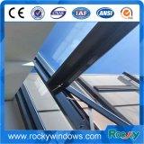 Toldo de cristal doble Windows de la aleación de aluminio de la alta calidad