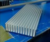 la lunghezza di alluminio del dissipatore di calore 74mm*22mm*100mm di profilo di larghezza di 74mm può su ordine