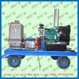 Machine à laver à haute pression industrielle de jet d'eau de nettoyeur de pipe de tube