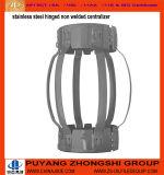 Öl-zementierenhilfsmittel-Edelstahl eingehängter Bogen-flexibler Gehäuse-Zentralisator