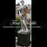 Statua di quattro stagioni multicolore Ms-658 della statua di pietra di marmo del granito