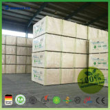 Paneles / tablero de fibra MDF de formaldehído libre super grado E0 Junta MDF Llanura / Melamined MDF