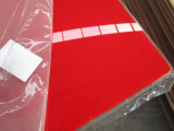 El nuevo material del 100% echó la hoja de acrílico, hoja del plexiglás