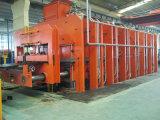 Banda transportadora de goma que crea a prensa de vulcanización de la máquina