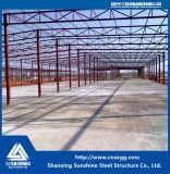 Construção de aço personalizada da grande extensão com a oficina fácil da instalação