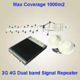 Impulsionador móvel Dual-Band do sinal do OEM 3G 4G com materiais brandnew