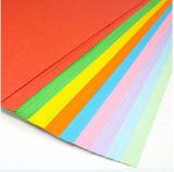 Papier de panneau de Bristol de couleur de la taille A4