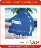 Smart Card stampati del PVC CI della plastica di disegni 13.56MHz 1k
