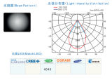 LED Street Light/Lamp Module Lens con 28 (4*6) LED de Seul 4040 (60)