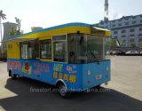 Автомобиль кухни передвижного быстро-приготовленное питания электрический для делать BBQ Teppanyaki Hotpot и горячую сосиску Hamburgar