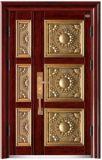별장 또는 사치품 강철 안전 문 또는 별장 문 정원 문을%s 유리를 가진 고품질 강철 문