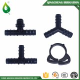 날카로운 플라스틱 티 연결관 관개 관 이음쇠
