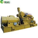 石炭は木によって発射された内燃機関のコークス炉ガスの発電機を始動させた