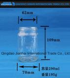 Transparente Glasflaschen-Glaswaren für Nahrungsmittelspeicher