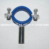 Санитарное Pipe Hanger с Insert Blue Rubber Round Type