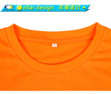 Collare Neck Jersey T Shirt con Design