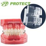 セリウムISO FDA.の歯科矯正学のSapphire Ceramic Bracket (Aesthetic Bracket)