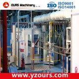 Chaîne de production automatique d'enduit de poudre pour le produit en acier