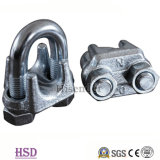 Certificateの索具Fastener Zinc Plated DIN741 Wire Rope Clamp
