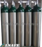 Pression médicale en aluminium de bouteille de gaz O2