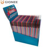 Rectángulo de empaquetado de la visualización del contador de la tarjeta de papel para Slipcase