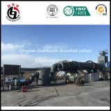 Carbón activado que recicla la fábrica
