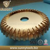 Roue de profil de diamant pour le meulage de pierre (SY-RB-6332)