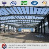 Полуфабрикат светлое здание мастерской стальной структуры