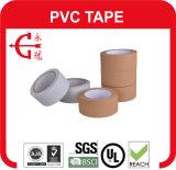 Cinta del conducto del PVC de la UL del pegamento