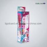 Rectángulo cosmético de lujo del empaquetado plástico con la pieza inserta cortada con tintas
