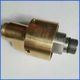 HD-F Typ Wasser-Metallmännlicher Verbinder 1 '' 1 Durchgangs-Drehverbindung