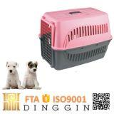 Plástico do canil do cão da linha aérea de Coulour para a venda