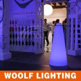 Cocktail vivente dell'indicatore luminoso di colore del LED con la Tabella di vetro
