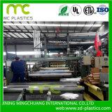 Пленка PVC прозрачная для упаковывать/задние материалов