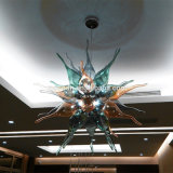 Handmade Blown Muticolor Art Stained Glass Chilli Chandelier Pendant Light