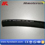 En854 de StandaardVezel Versterkte Slang van de Hoge druk (Hydraulische slang SAE100R3/SAE100R6)