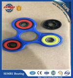 Rolamento de esferas cerâmico cheio (608) para brinquedos do girador da mão