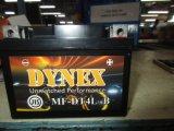 12V4ah gedichtete wartungsfreies Leitungskabel-saure Motorrad-Batterie Dynex