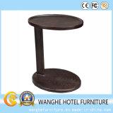 Mesa de centro do hotel da mobília da madeira contínua da forma para uma pessoa