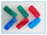 Casella trasparente della medicina di taglio della pillola del regalo promozionale fornita di lamierina dell'acciaio inossidabile